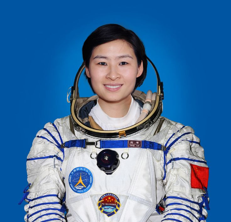 Liu Yang, Chinese First female astronaut to go to space.