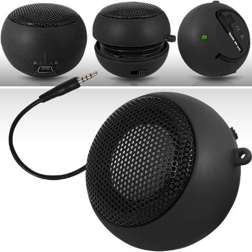 Introducing N4U Online N4U Online Black Super Sound Rechargeable Mini Pocket Size Portable Speaker 35Mm Audio Jack Built In With Usb Charger Lead Suitable For Sony Ericsson Xperia X8. Great Product and follow us to get more updates!