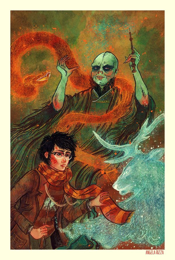The Deathly Hallows by Angela Rizza [©2011]