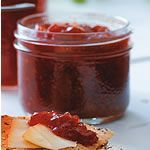Strawberry Balsamic Black Pepper Jam recipe *2 lbs strawberries hulled & sliced = 6 cups *1 batch makes 11 cups of jam