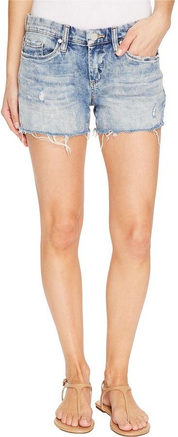 Blank NYC Acid Wash Shorts in Back Burner