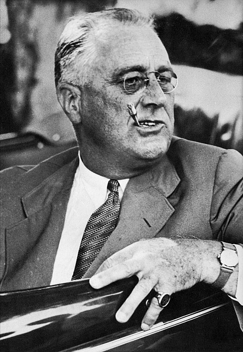 F. D. ROOSEVELT (1882-1945). 32nd President of the United States. Photographed c1940.
