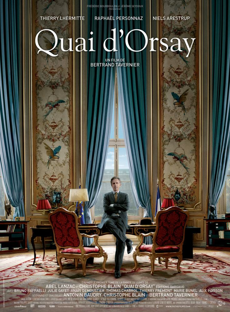 Quai d'Orsay (The French Minister), a French film to watch this January.   Visit www.talkinfrench.com for everything you'd love to learn about French language and culture.