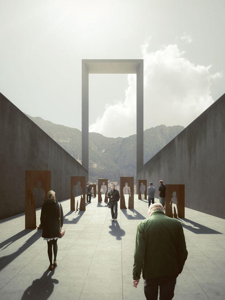 Galería - Seis propuestas para el Museo Nacional de la Memoria en Colombia - 39