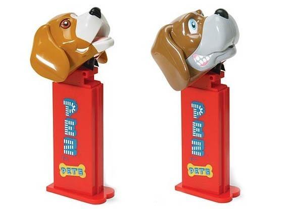 Pez Dog treat dispenser