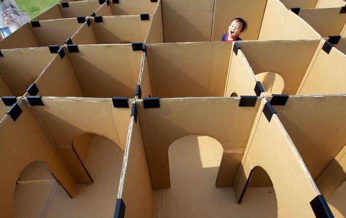 Посмотри, как грамотные мамы используют старые коробки… Воплощение детской мечты! Дети просто обожают новые игрушки! …