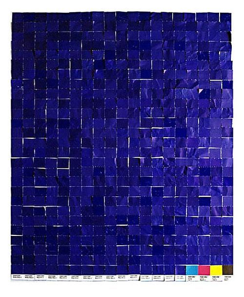 Abstraction in phtography by Yves Klein Avant-garde