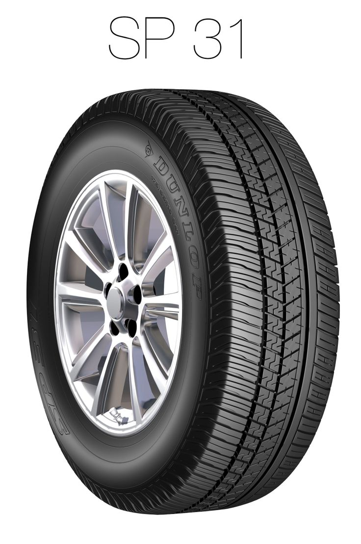 A low noise tyre designed for aquaplaning resistance.