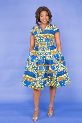 Flavour African Midi Dress-HouseOfSarah14
