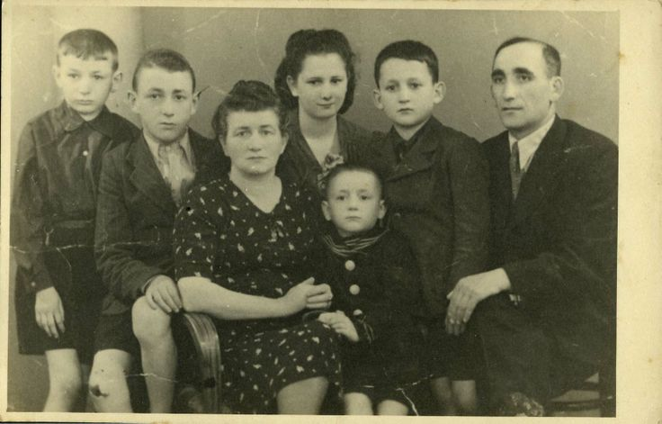 Lukow, Poland, The Frengler family.