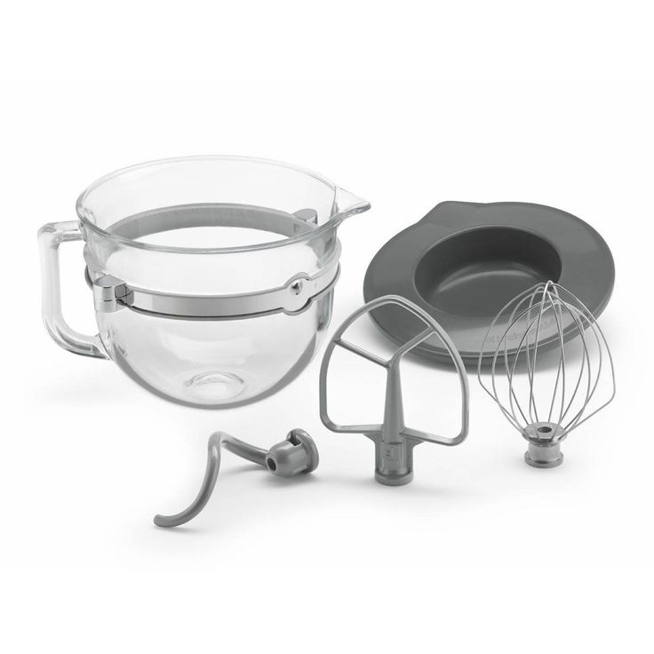 KitchenAid 6 Quart Glass Bowl Kit For Bowl Lift Stand Mixer (KSMF6GB) | Everything Kitchens