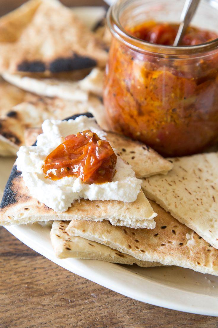 Saffron Tomato Confit - What's Gaby Cooking.