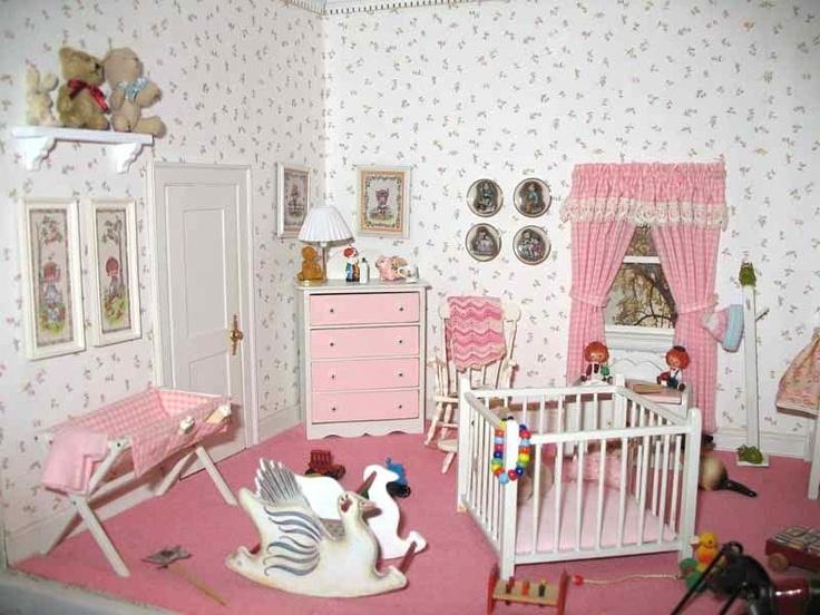 Nursery miniature (left side)