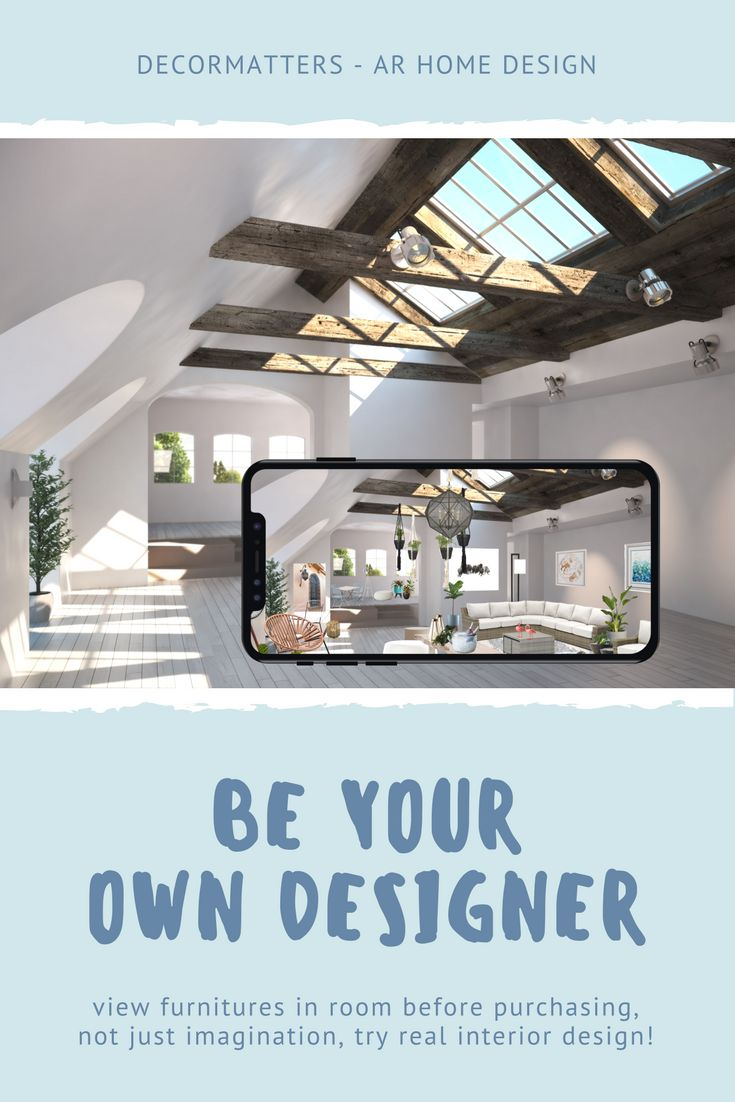 Not Just Imagination, DecorMatters AR Home Design Free App Makes Everyone  An Interior Designer! Design And Decor Your Own Room, Become Your Own  Designer ...