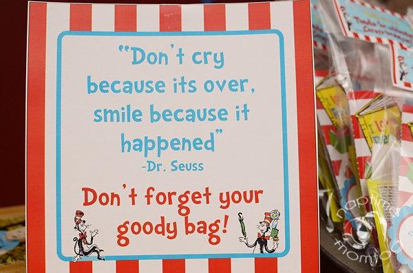 goody bag sign