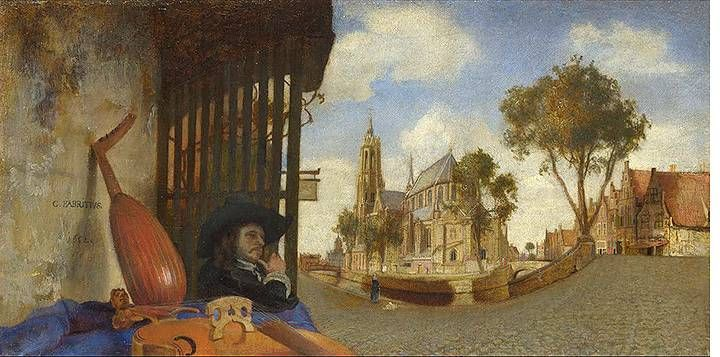 Muziek aan de muur in Delft. Over Johannes Vermeer en meer.