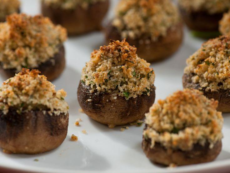 stuffed mushrooms recipe giada de laurentiis food network - 616×462