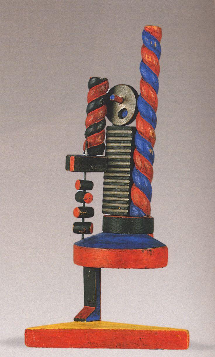 Costruzione di bambina fortunato depero 1917 for Museo d arte moderna e contemporanea di trento e rovereto