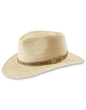 Stay cool and comfortable in our handsome straw sun hat for men.