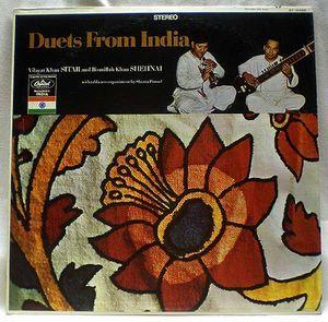 Vilayat Khan & Bismillah Khan With Tabla Accompaniment By Shanta Prasad - Duets From India: buy LP at Discogs