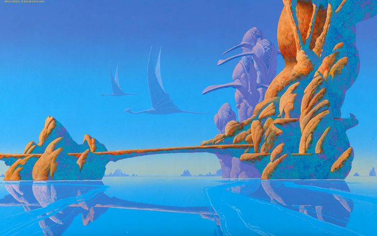 Space Needle - Roger Dean