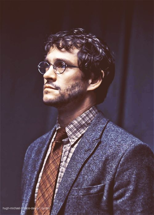 Will Graham from Hannibal- He's handsome, dresses very nice, and is incredibly intelligent...oh and did I mention he's a bit unstable?
