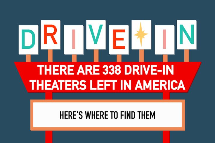 There are even two XXX drive-in theaters — you won't be surprised which state they're in.