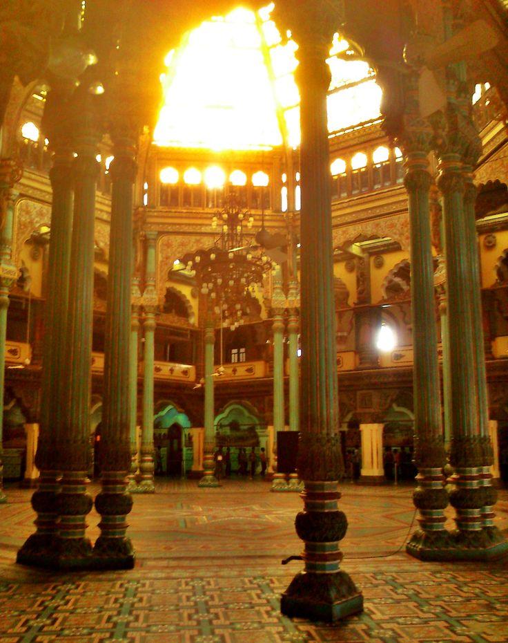 mysore palace interior
