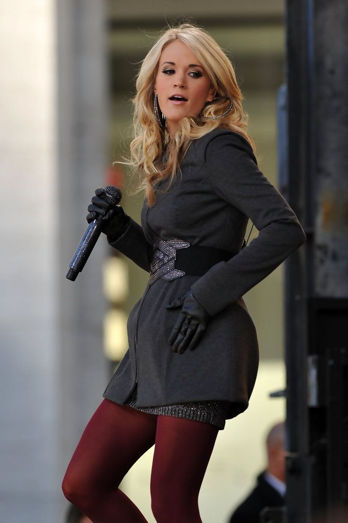 Carrie Underwood - Carrie Underwood Performs On ABCs Good Morning America