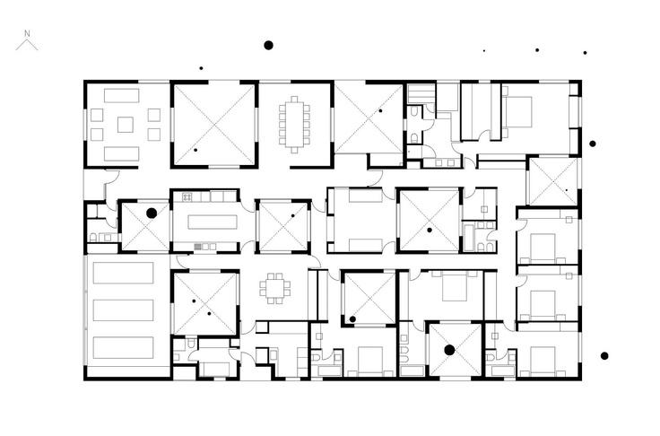 Pezo Von Ellrichshausen architects, Parr house, Chiguayante, Chile, 2008
