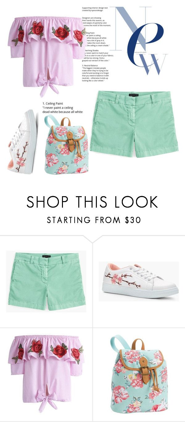"""""""Cute Price"""" by feliciamia on Polyvore featuring J.Crew, Boohoo, Chicwish and PBteen"""