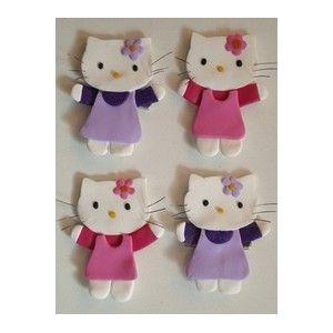 Hello Kitty - pasta fimo.