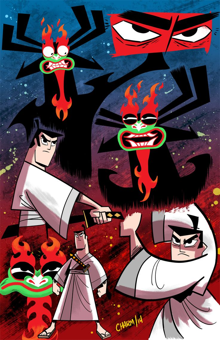 Samurai Jack - Derek Charm/// back to Jack back to the past Samurai Jack!!!!