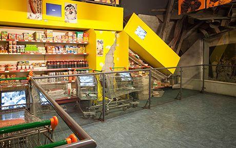 Kobe Supermarket Earthquake Machine The Natural History