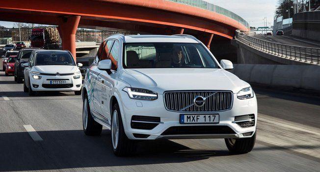 #Volvo details autonomous test program on China's public roads