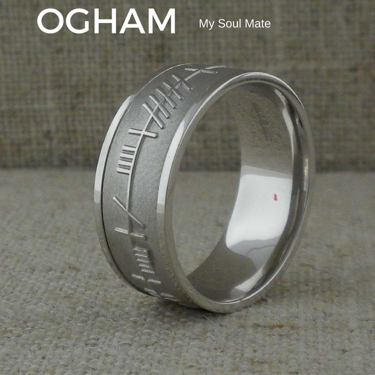 second l engagement platinum mens soulmate b celtic p mate groom handfasting promise wedding rings marketplace life soul ring