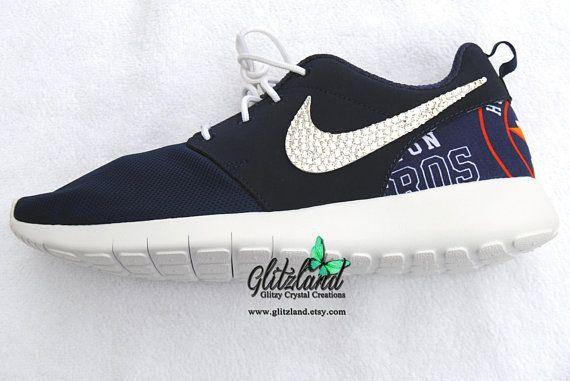 Houston Astros Swarovski Girls Womens Nike Navy Roshe Run W Astros Print Heel Blinged Wi Mens Fashion Business Nike Shoes Size Chart Fashion Business Casual