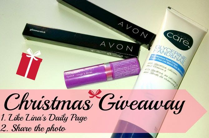 Lina's Daily: Christmas Giveaway!!