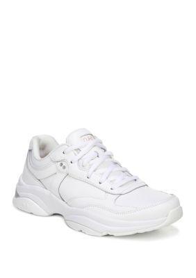 Ryka Nova Oxford Sneakers – White – 9.5W