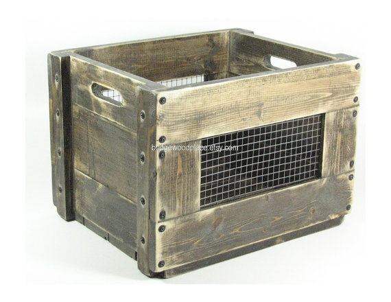 78 best container vessel receptacle images on pinterest Wooden crates furniture