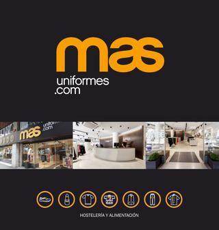 Catalogo Mas Uniformes 2017  Nuevo catálogo 2017 de vestuario laboral para Hostelería y Alimentación   Ropa de Trabajo