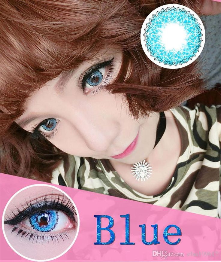 find the qualified muse big eye contacts colorful contact lenses cosmetic colored eyes 6 color - Contact Lenses Color Halloween
