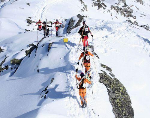 Tour du Rutor  Passaggio in cresta Alp Vielle
