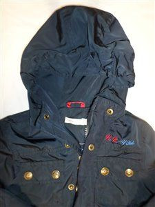 Lana Baby Jacket Blue