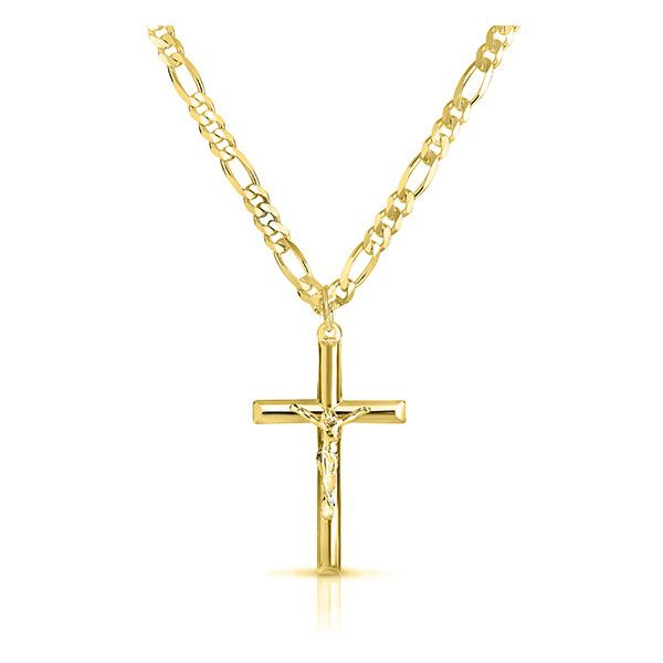 Now $35 - Shop this and similar men's necklaces - Solid sterling silver necklace with a religious design for a symbolic manifestation of your faith Size: Osfm....