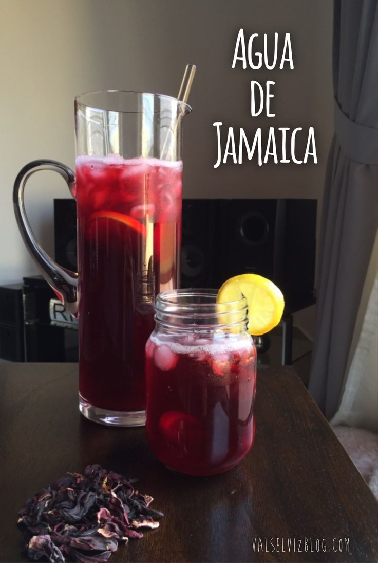 Chilled agua de jamaica : If you like lemonade, you'll love this thirst-quenching drink! This chilled hibiscustea recipe is a perfect treat for the end of summer // The PumpUp Blog: