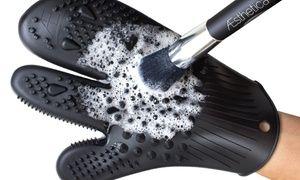 Groupon - Aesthetica Cosmetics Makeup Brush Cleaning Mitt. Groupon deal price: $18.99