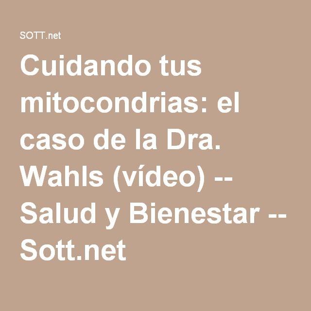 Cuidando tus mitocondrias: el caso de la Dra. Wahls (vídeo) -- Salud y Bienestar -- Sott.net