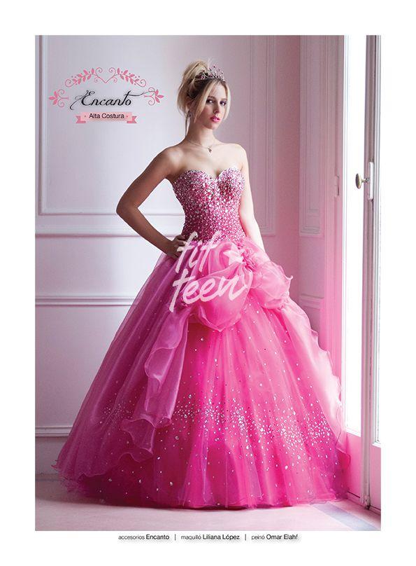 Produccion para Revista Fifteen Vestido y accesorios de Encanto Alta ...