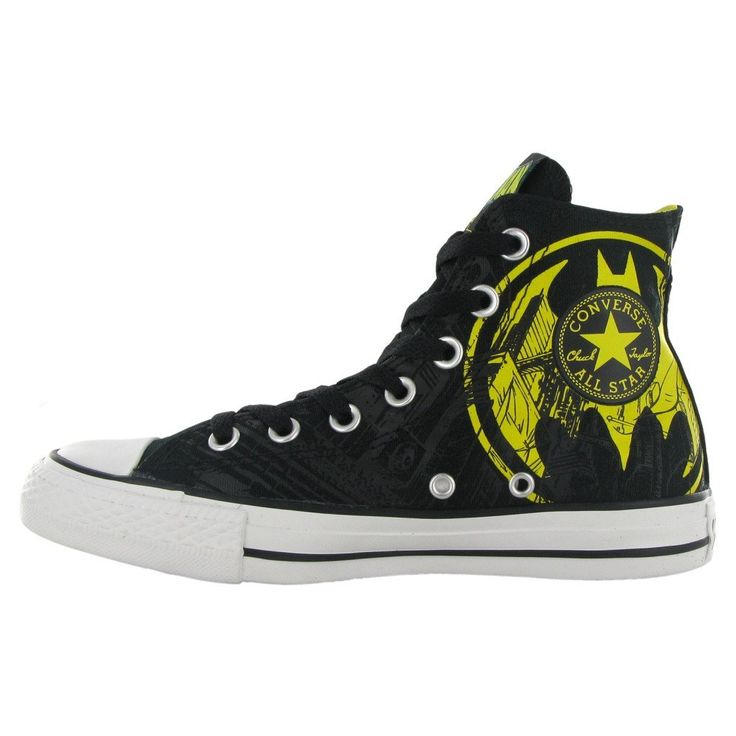Converse CT DC Batman Hi Black Yellow Womens Trainer